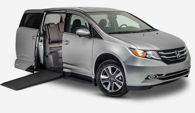 Used Handicap Vans For Sale >> Honda Odyssey Wheelchair & Handicap Vans for Sale | VMI